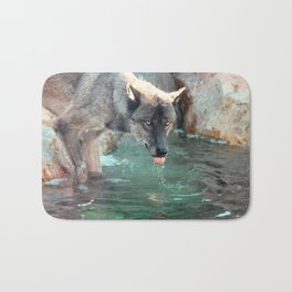 Thirsty Like the Wolf Bath Mat