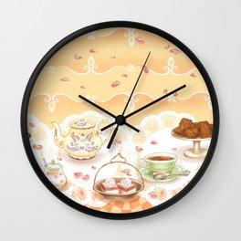 Dutch Tea Party Wall Clock