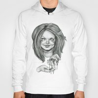 ginger Hoodies featuring Ginger by Taylor Bryn Illustration
