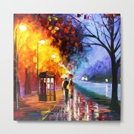 THE LIGHT TARDIS Metal Print
