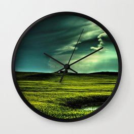 Passing Through Wall Clock