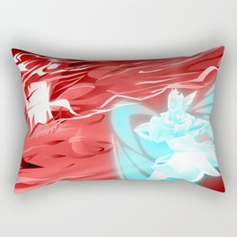 Archangel Vs ArchEvil Rectangular Pillow