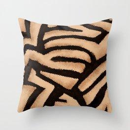 Something Wild Throw Pillow