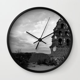 Mission in ruin  Wall Clock