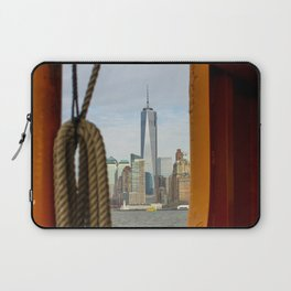 Freedom Tower through The Boat Laptop Sleeve