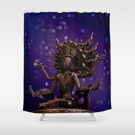 Tibetan Buddha 2 Shower Curtain