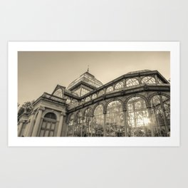 Architecture for the light Art Print