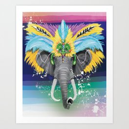 Life is a Carnival Art Print