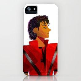Thriller Red Jacket iPhone Case