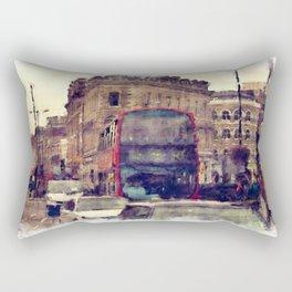 Southwark Scene - London England Rectangular Pillow