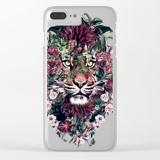 Tiger III Clear iPhone Case