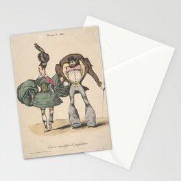 The Fashions of 1830  A Further Degree of Perfection (Encore un dégré de perfection  Modes de 1830), Stationery Cards
