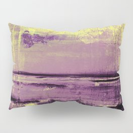 Yellow Color Patches Pillow Sham