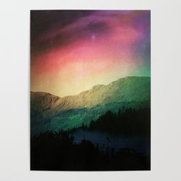 Scottish Mountains Poster