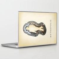 metropolis Laptop & iPad Skins featuring metropolis by Vin Zzep