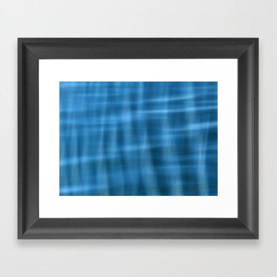 Water Pattern #2 Framed Art Print