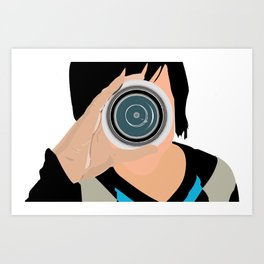 Lens Art Print