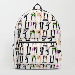 Circle jerk - fluro orgy mix Backpack