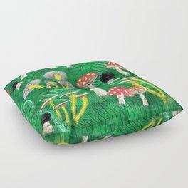 Mushroom Party Floor Pillow