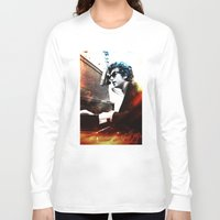 bob dylan Long Sleeve T-shirts featuring Bob Dylan by Maioriz Home