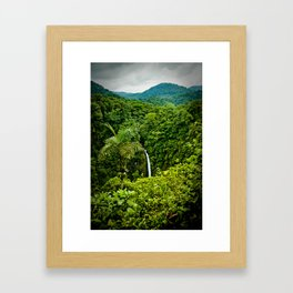 La Fortuna Framed Art Print