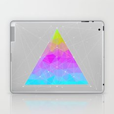 The Dots Will Somehow Connect (Geometric Pyramid) Laptop & iPad Skin