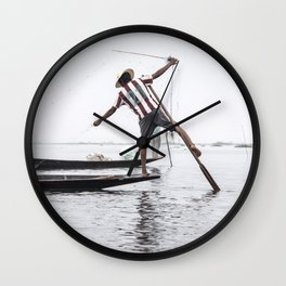 MULTI-TASKING Wall Clock