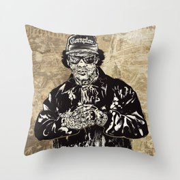 ZombEazy Throw Pillow