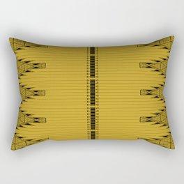The Lodge (Gold) Rectangular Pillow