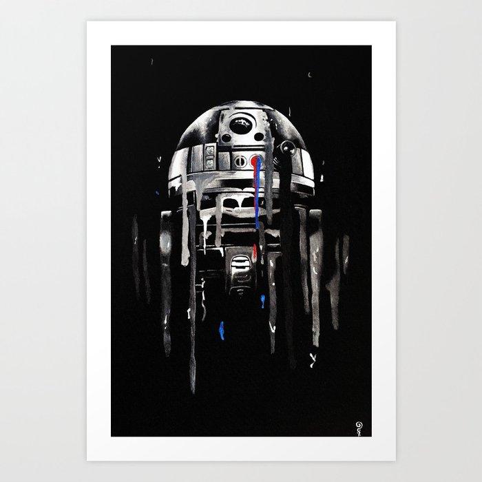 """Nearsighted Scrap Pile"" Art Print"