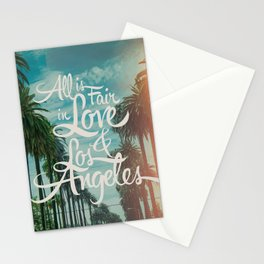 ALL IS FAIR III Stationery Cards
