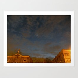 Logan Square Sky Art Print