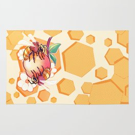 Bees & Apricot Rug