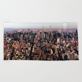 New York City 82 Beach Towel