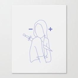 Division Canvas Print