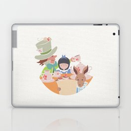 Alice and Tea Party Laptop & iPad Skin