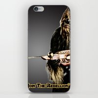 chewbacca iPhone & iPod Skins featuring Chewbacca by KL Design Solutions