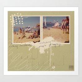 Beach Ready Art Print