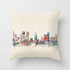 denver colorado  Throw Pillow
