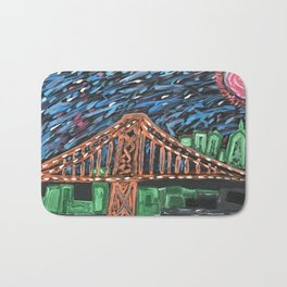 Sunny Day In Philly Bath Mat
