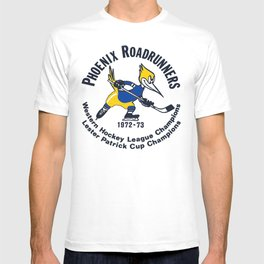 In color Phoenix Roadrunners vintage style T-shirt