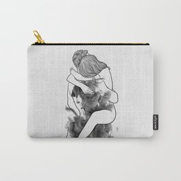 I find peace in your hug. Carry-All Pouch