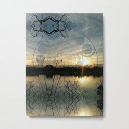 swampworks like clockwater Metal Print