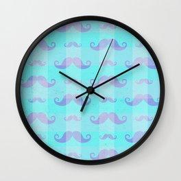 Mustache 1 Wall Clock