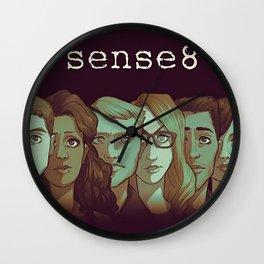 SENSE8 Characters drawing Wall Clock
