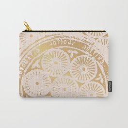 power of one: pink gold Carry-All Pouch
