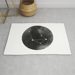 Libra Zodiac Sign | Horoscope | Star Constellation Rug