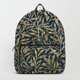 William Morris Floral Art Nouveau Pattern Backpack