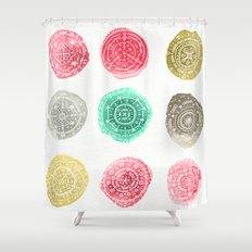 Crafty Stains Shower Curtain
