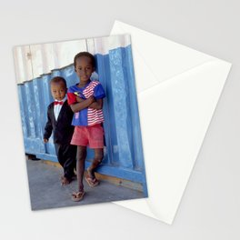 Overdressed In Zanzibar Stationery Cards